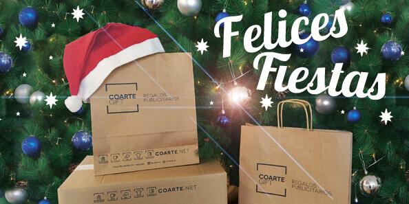 ¡El equipo de Coartegift te desea Felices Fiestas!